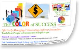 speaking program by Dawn Billings: Primary Colors Leadership Program