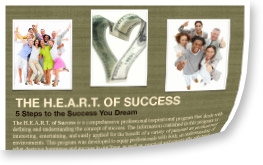 speaking program by Dawn Billings: The Heart of Success Program