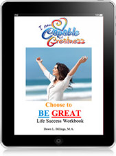 Choose to BE GREAT Life Success Workbook for Women