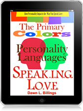 The Primary Colors of SPEAKING LOVE.