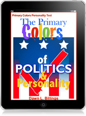 The Primary Colors of Politics and Personality