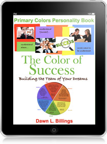 the color of success the primary colors persoanlity book for mlm and direct sales - Primary Colors Book