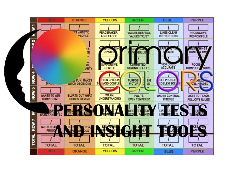 picture regarding Color Personality Test Printable named Sunrise Billings Key Shades Persona, Essential Shades